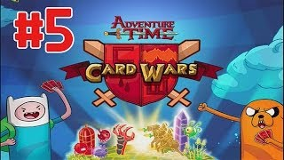 Card Wars - Adventure Time Walktrhough Part 5 (iOS)