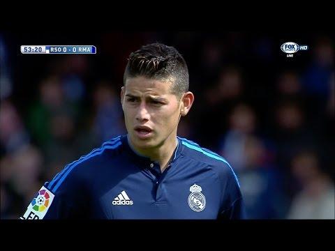 James Rodriguez vs Real Sociedad Away (30/04/2016) by JamesR10™