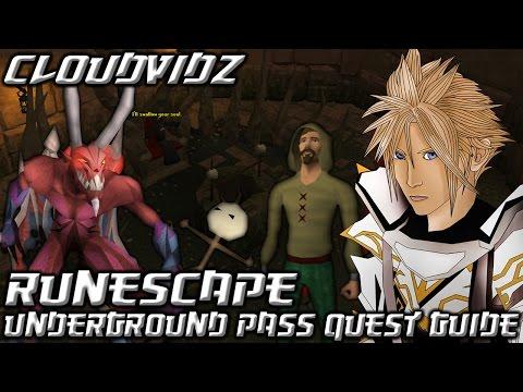 Runescape Underground Pass Quest Guide HD