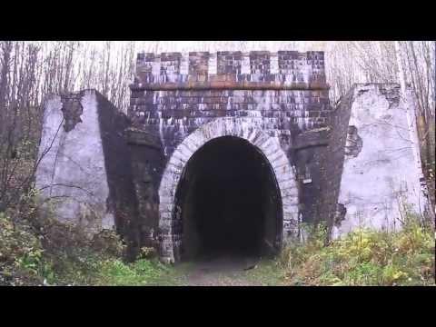 Поездка в заброшенный тоннель