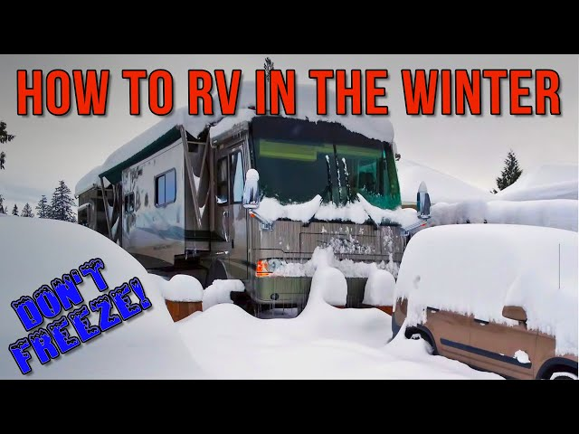 HOW TO: RV in the Winter