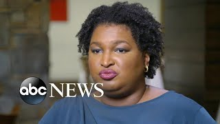 'That's rigging the game': Stacey Abrams on voter I.D. laws