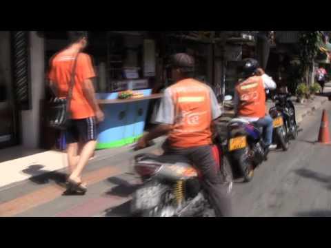 Bangkok Motorcycle Taxis