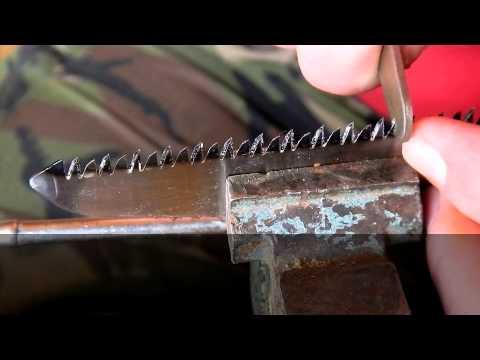 Как правильно точить ножовку в домашних условиях