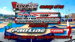 2016 IFMAR 1:8 Nitro Buggy Worlds - Thursday Qualifying Day