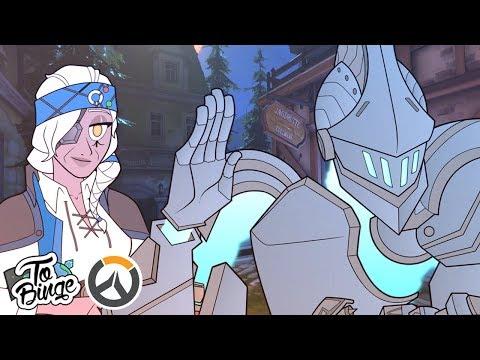 A Halloween Hello: Overwatch Animated
