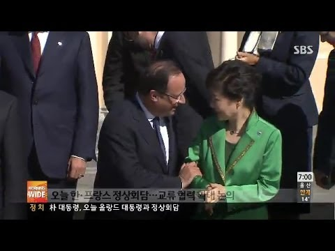 [News] S.Korea's president meet French K-POP fans at the Korean Drama Party in France