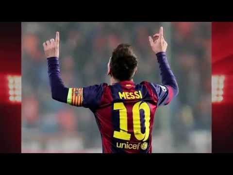 Apoel 0-4 Barcelona [suarez First Goal, Messi Breaks Record] video