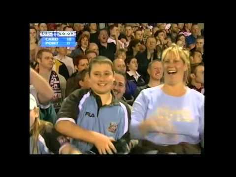 Cardiff vs Pontypridd. 2003. Rhys Williams try.
