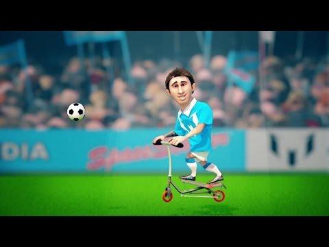 Messi presentó su videojuego oficial para celulares