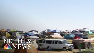 Americans Hit The Road To See The Eclipse | NBC Nightly News