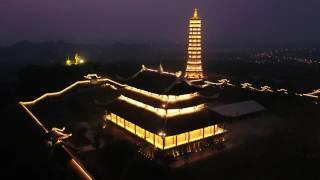 Chùa Bái Đính, Ninh Bình nhìn từ trên cao bằng Inspire