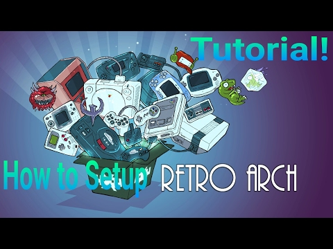 TUTORIAL-How to Setup & Use Retro Arch Emulator On Android!