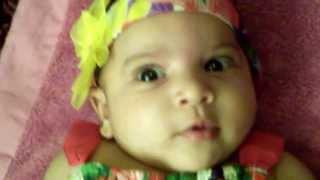 Baby zwei Monaten alt رودينا امورة عمرها شهرين