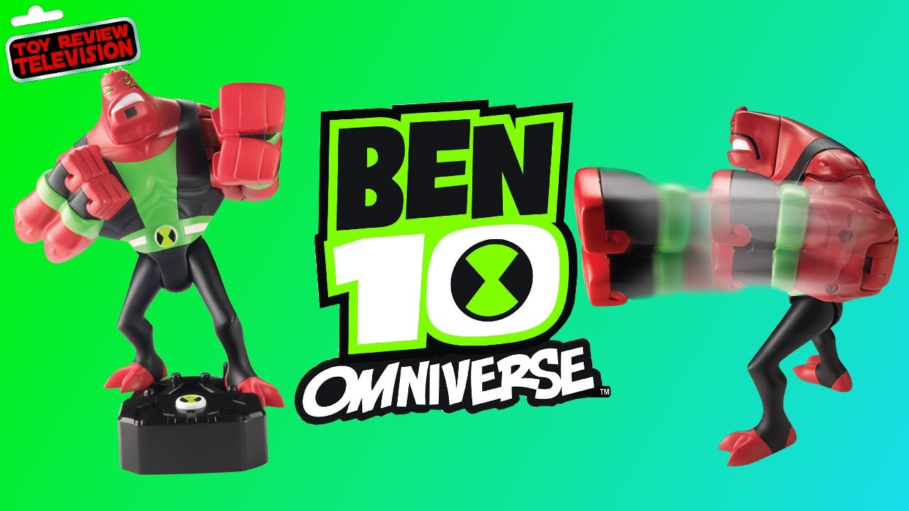 Ben 10 Reboot Four Arms Toy Review - YouTube