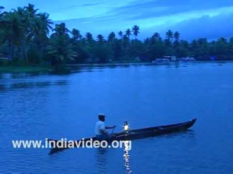 A Night in the backwaters at Kuttanad