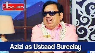 Hasb e Haal - 20 April 2017 - Azizi as Ustaad Sureelay - حسب حال - Dunya News