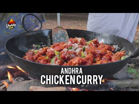 Andhra Chicken Curry || Kodi Kura || Daddychef
