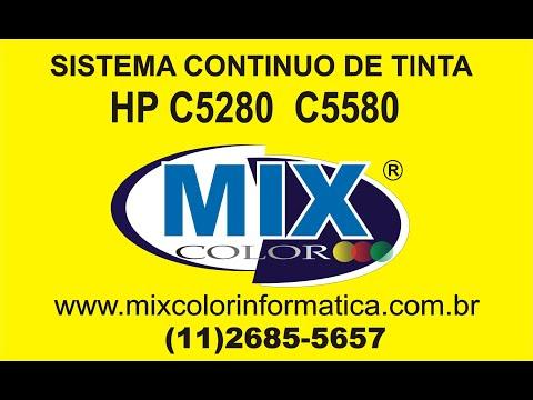 INSTALAÇÃO COMPLETA BULK INK HP C5280 C5580