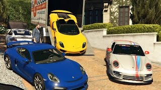 Gta 5 Porsche Delivery - Michael