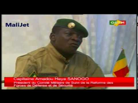 Capitaine Amadou Haya SANOGO _ Invité du jour sur la ligne de FRONT