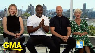 'GMA' Hot List: 'Hobbs and Shaw' cast describe the film in 1 word | GMA Digital