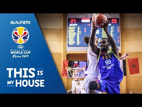 Egypt v Dem.Rep. of Congo - Highlights - FIBA Basketball World Cup 2019 - African Qualifiers