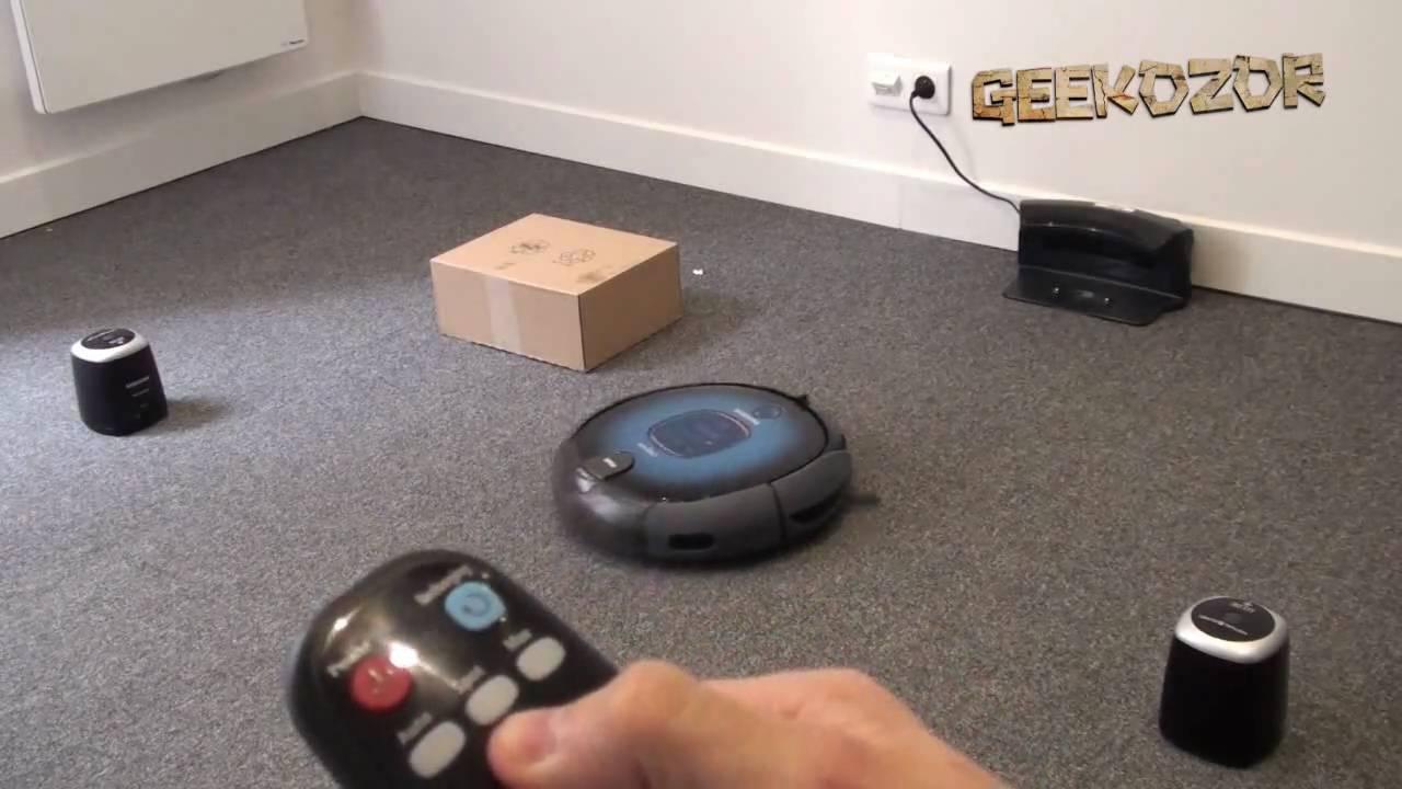 samsung navibot test et d monstration vid o du robot. Black Bedroom Furniture Sets. Home Design Ideas