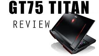 Msi GT75 Titan RTX 2080 + i9 8950HK at 4.7Ghz!  Full Review!