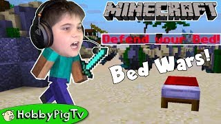 Minecraft Bed Wars No Teams Free For All HobbyPigTV