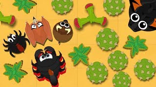 MOPE.IO / GIANT SCORPION GAMEPLAY PART 2 / LEVEL UP TO BLACK DRAGON