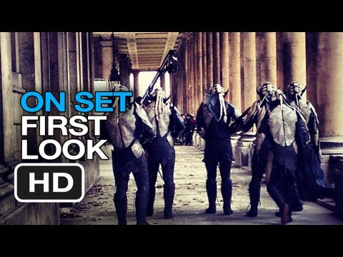 Thor: The Dark World - On Set First Look (2013) Chris Hemsworth Natalie Portman Movie HD