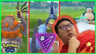 NO LEGENDARY/MYTHICAL POKEMON TEAM  - POKEMON GO BATTLE MASTER LEAGUE