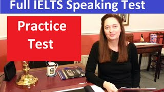 IELTS Speaking Test: Practice & Model Answers