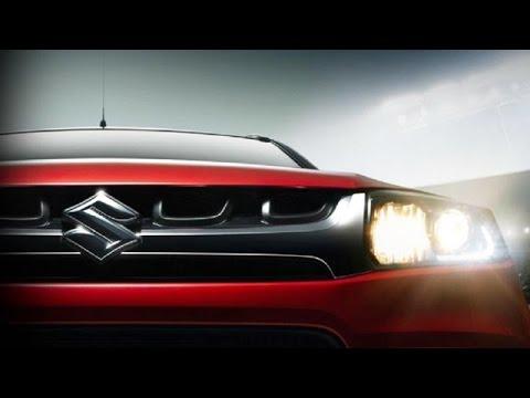 Maruti Suzuki Vitara Brezza Teased Ahead Of Auto Expo 2016
