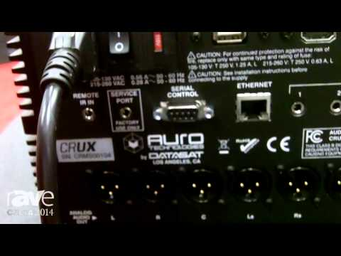 CEDIA 2014: Auro Details the Auro 3D CRUX