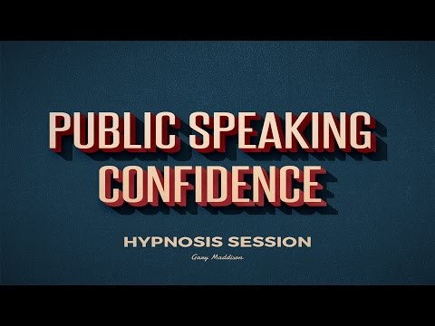 Public Speaking Confidence Self Hypnosis Session