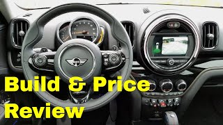 2019 MINI Cooper S Countryman ALL4 Signature JCW - Build & Price Review:  Colors, Interior, Options