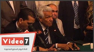بالفيديو..أحمد عبد الوارث في تأبين خليل مرسي: الراحل كان يبحث عن الفن الجيد