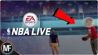 NBA LIVE 20 NEWS | AND 1 STREETBALL LEGEND SPOTTED DURING...