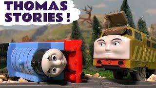 Thomas & Friends Stories of Toy Trains Accidents Paw Patrol Surprise Eggs compilation ToyTrains4u