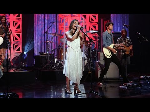Lucy Hale Performs 'Lie a Little Better'