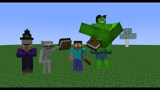 Monster School: Reading (Minecraft Animation)