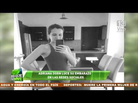 Adriana Dorn luce su embarazo en las redes sociales