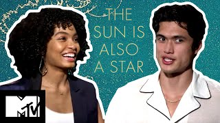 The Sun Is Also A Star Cast Challenge Each Other In A Game Of Charades | MTV Movies