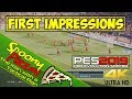 PES 2019 | First Impressions | A Football Simulation is BORN | 4K UHD