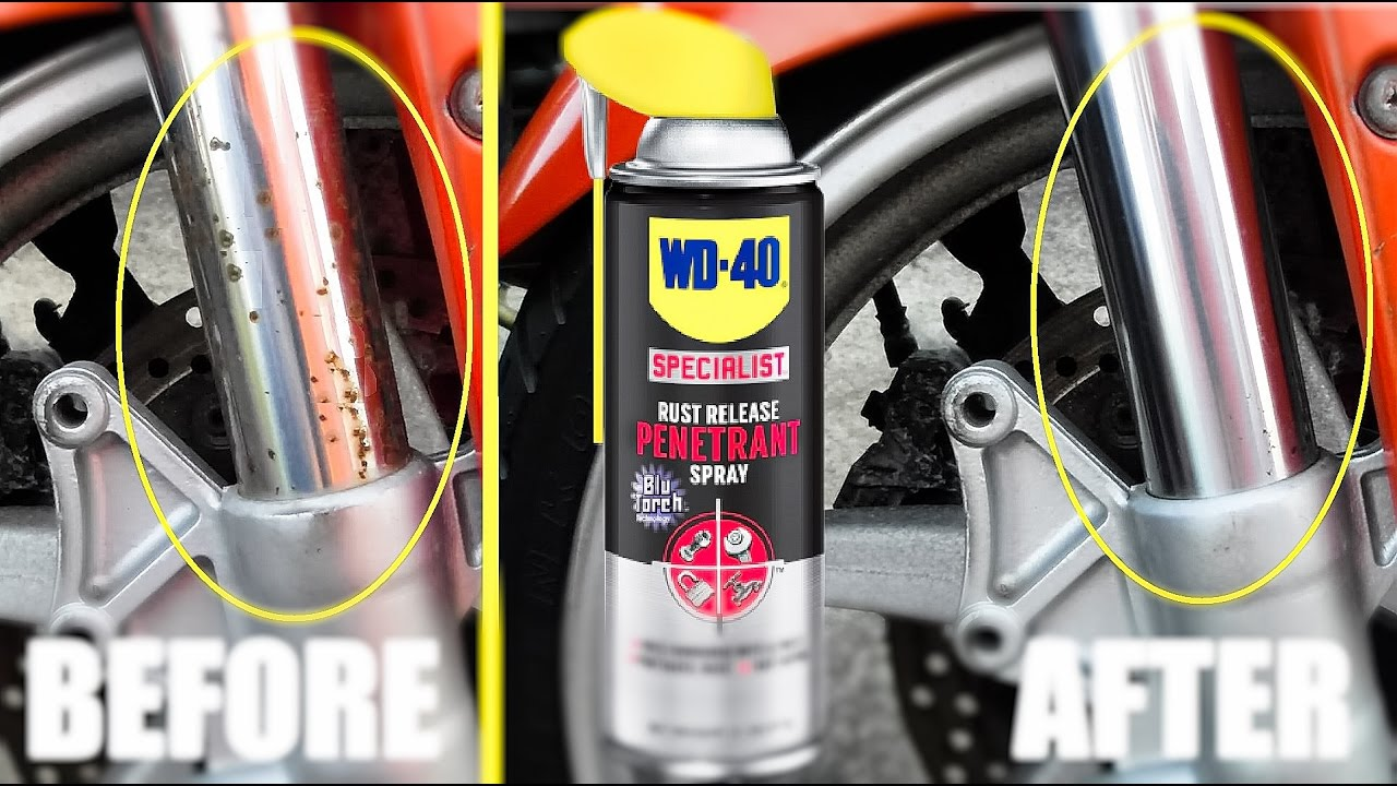 How to Remove Rust from a Bike Chain picture
