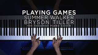 Summer Walker ft. Bryson Tiller - Playing Games | The Theorist Piano Cover