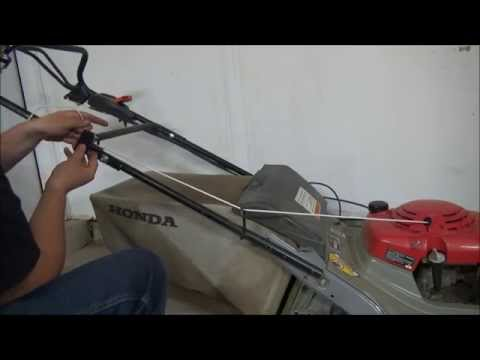 How to replace lawn mower cord   Lawn mower pull cord