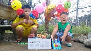 Đồ chơi trẻ em bé pin bán trái cây ❤ PinPin TV ❤ Baby toys sell fruits